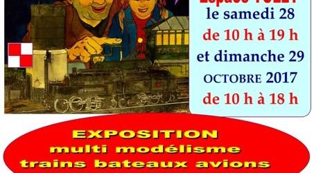 Samedi 28 (10-19h) et dimanche 29 (10-18h) octobre 2017 40 ans Ass. Thononaise et Chablaisienne des Amis du Rail, ATCAR74, club FFMF 2016 – http://atcar74.free.fr/ et Facebook LEMANO TRAIN Espace […]